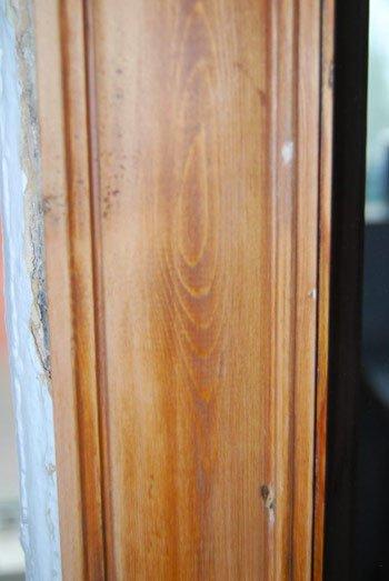 Sanded Door Frame