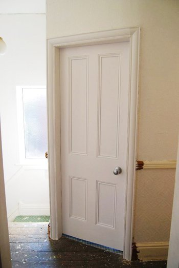 Bathroom Door After
