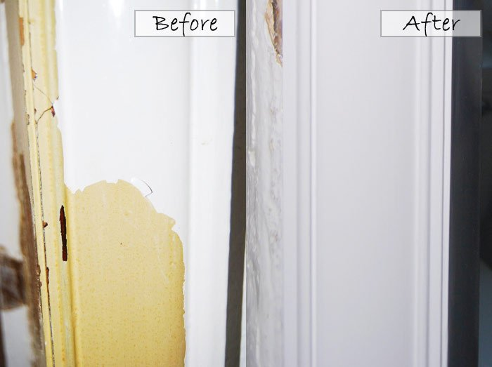 Door Detial Before and After