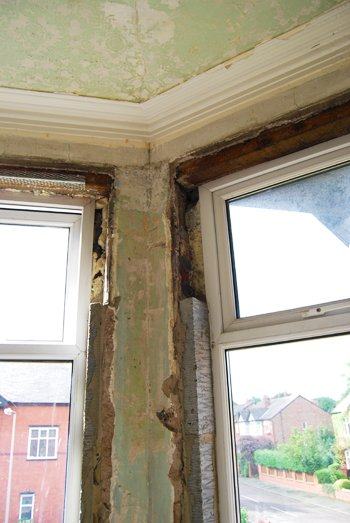Bricking Up Window