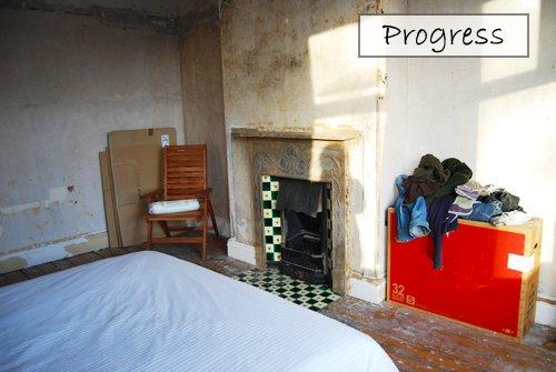 Bedroom 1 Progress