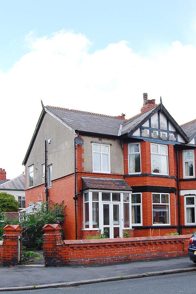 Edwardian House Before