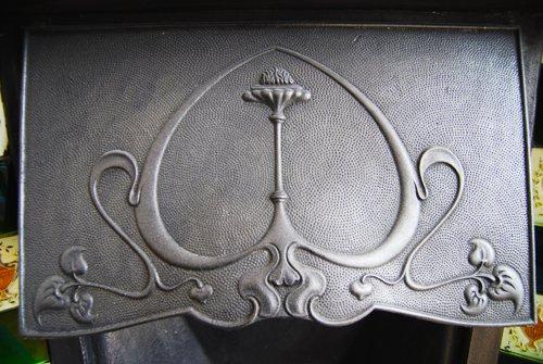 Edwardin Fireplace Detail