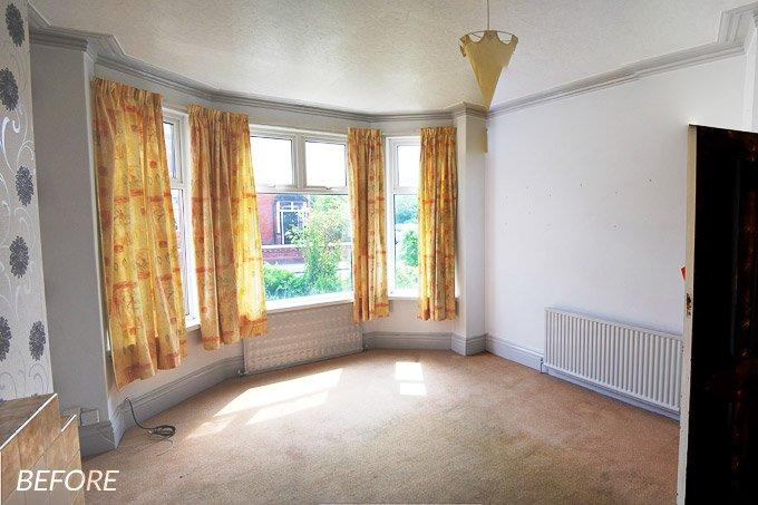 Edwardian Living Room Before