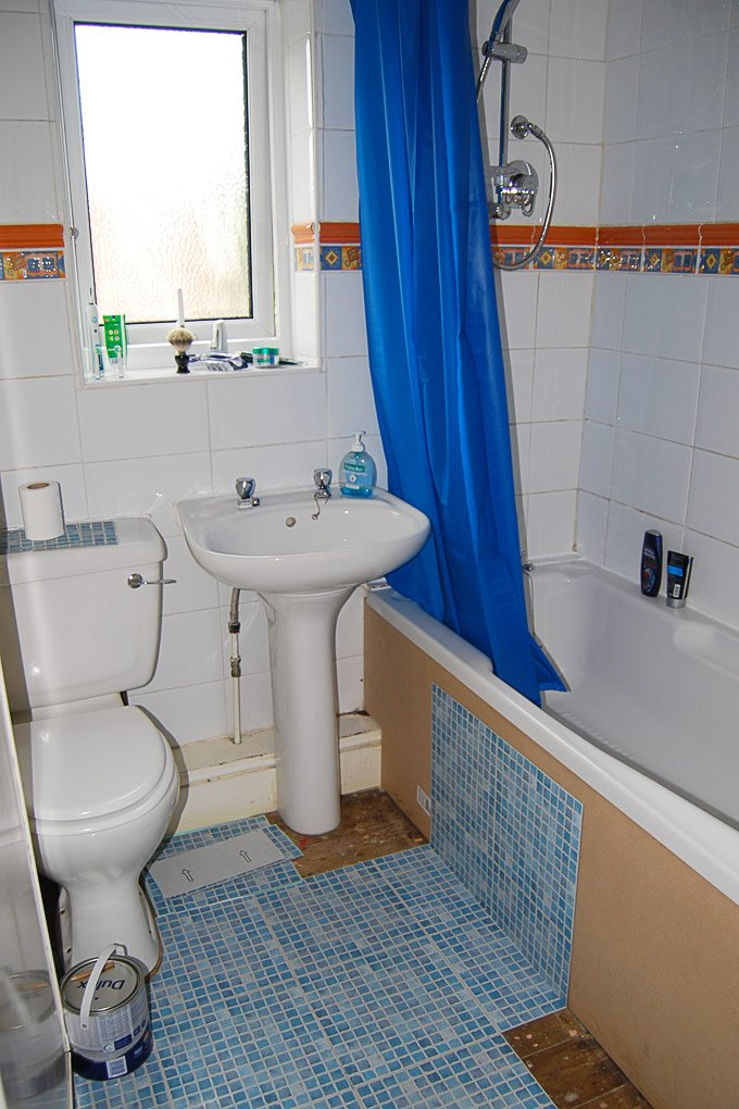 cheap bathroom makeover. Contemporary Makeover Bathroom Laying Tiles In Cheap Makeover T