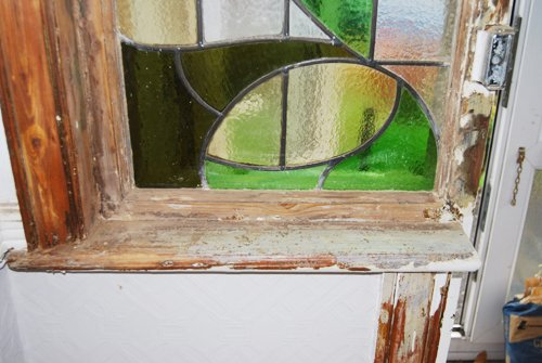 Stripped Wooden Frame