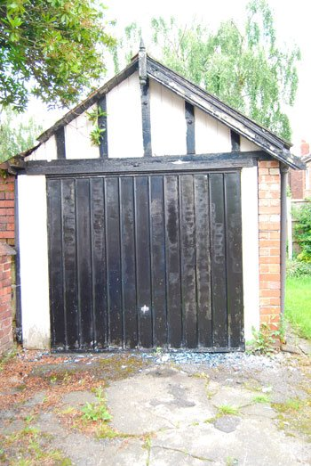 Garage Door Progress