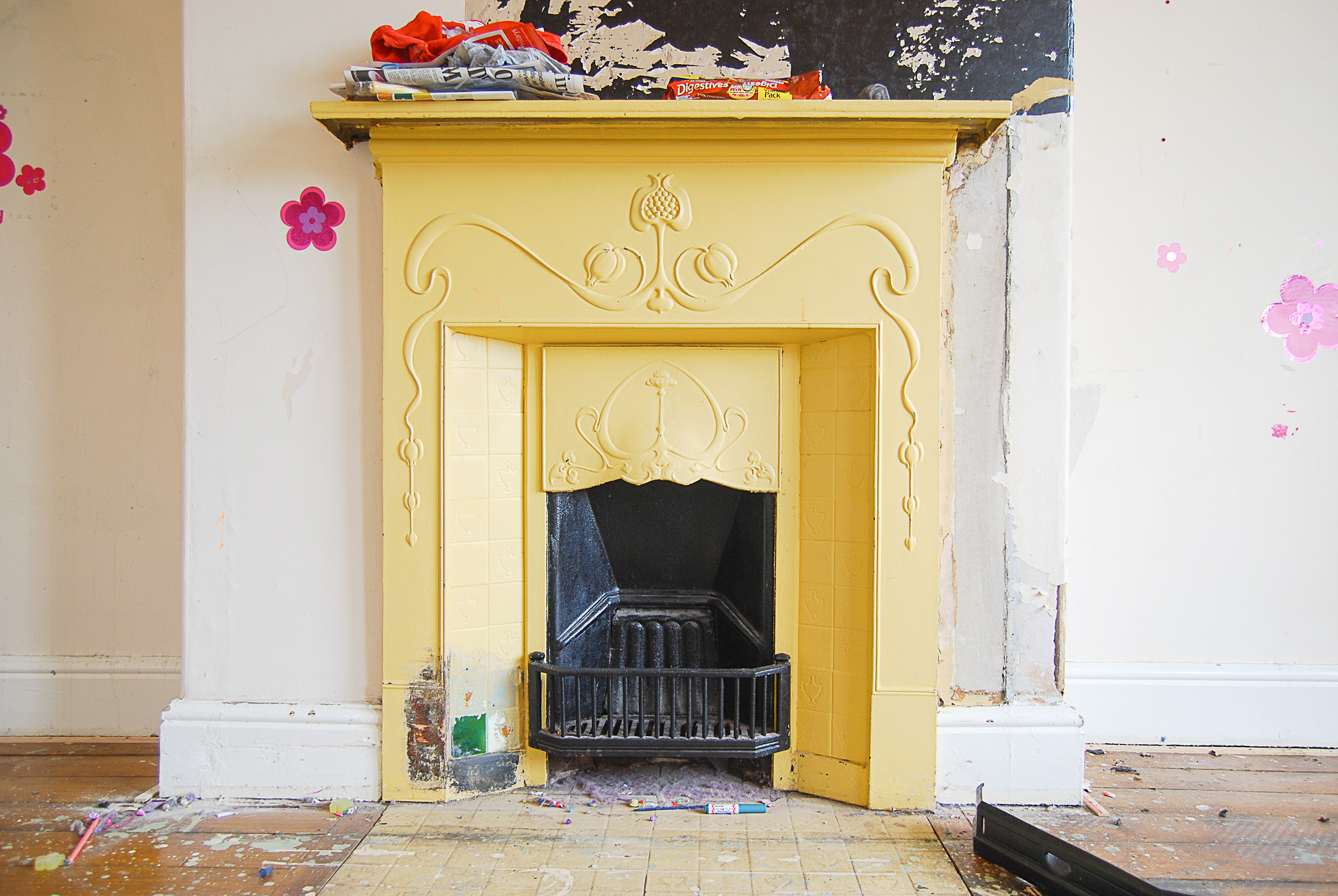 How To Restore An Edwardian Cast Iron Fireplace