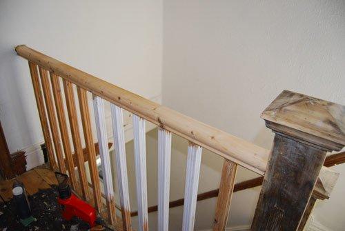 Stripped Handrail