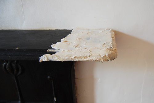 Stripping A Fireplace
