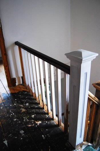 Stained Handrail