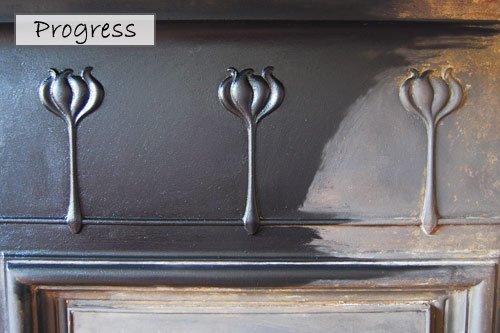 Fireplace Grate Polish