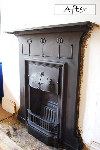 Restored Edwardian Fireplace