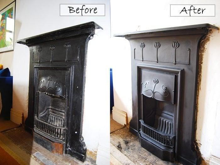 Edwardian Fireplace Restoration: victorian fireplace restoration