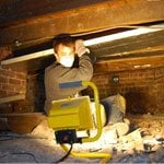 Insulating Under Wooden Floorboards