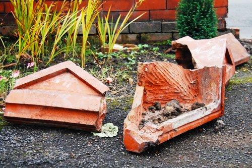 Rebuilding Garden Posts