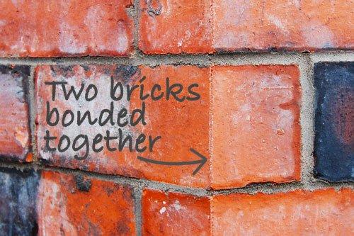 Bonded Bricks