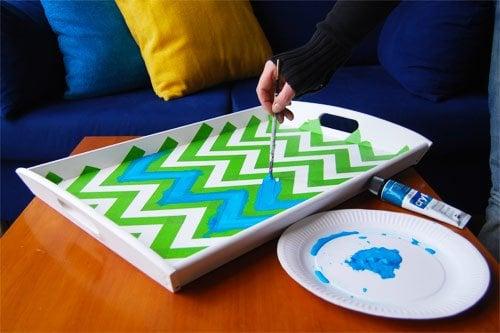 Ikea Klack Tray Makeover
