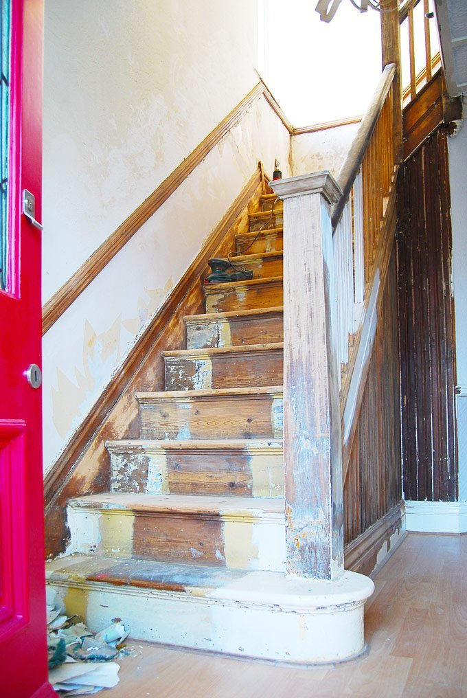Edwardian Staircase Restoration - Little House On The Corner