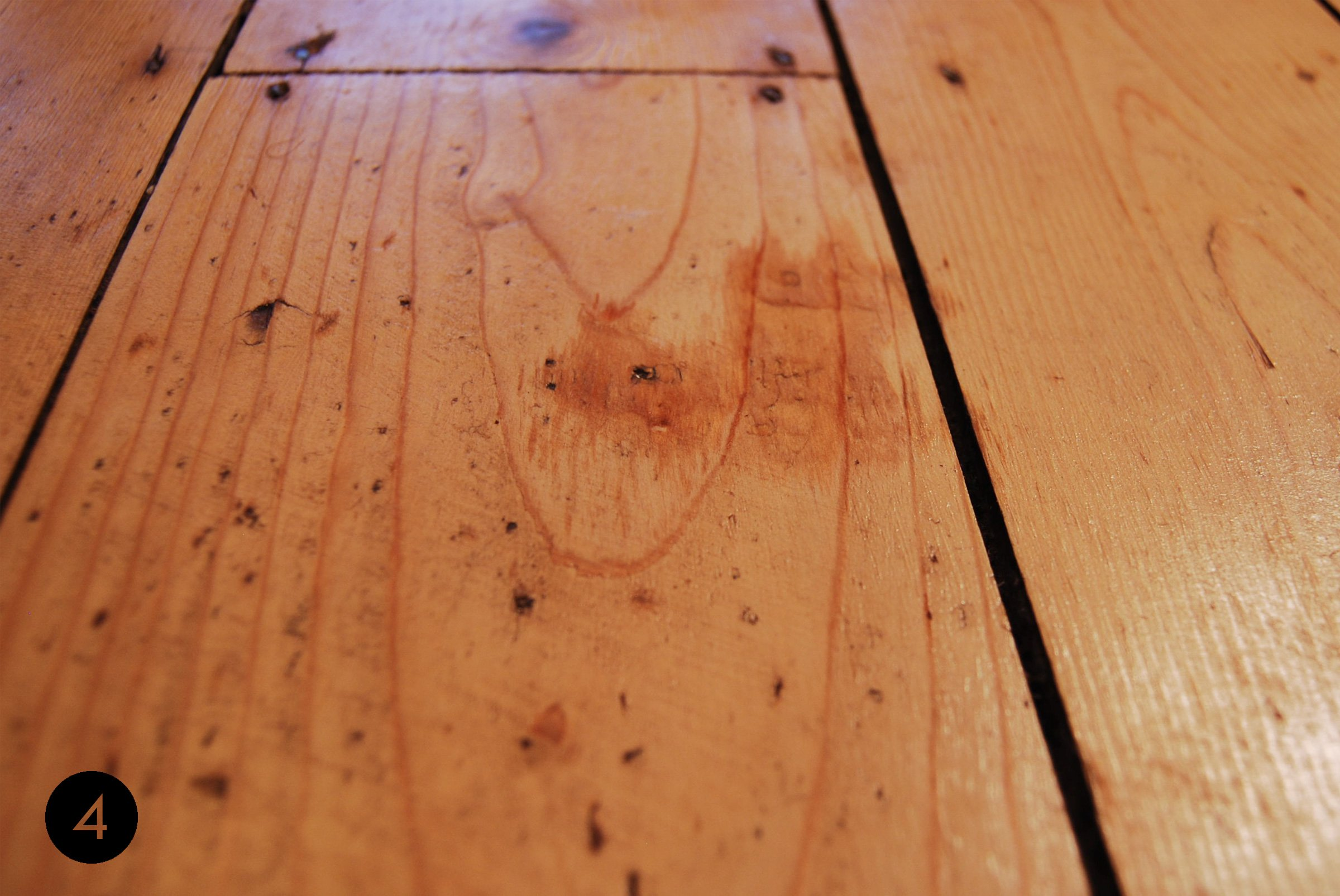 How To Remove Dents In Wood | Step 4 | Little House On The Corner