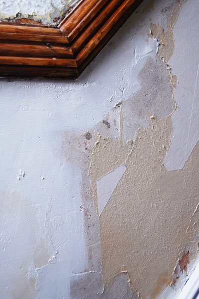 Wall In Need Of Plastering