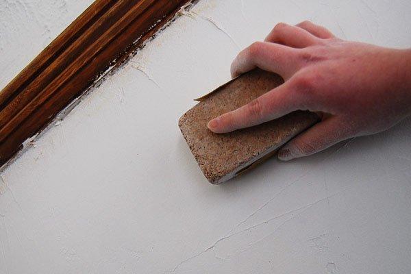 Sanding A Wall