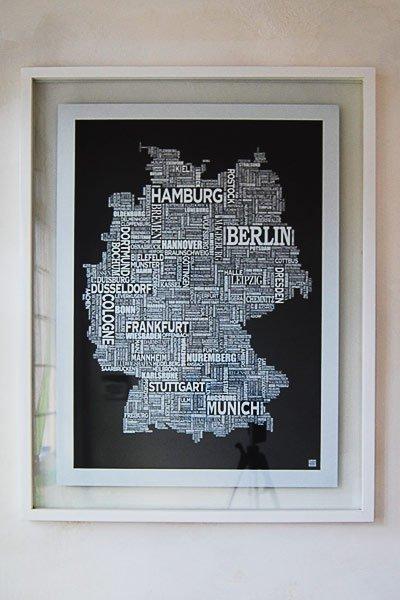 Germany Screen Print