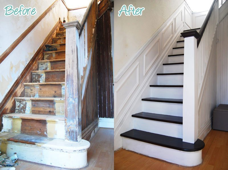 My victorian terrace renovation for Terrace stairs