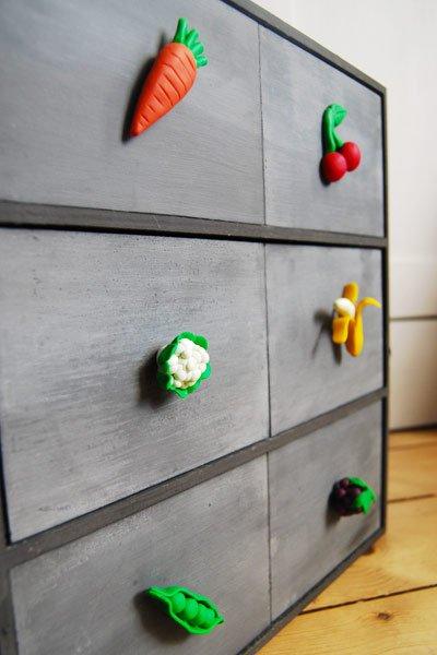 Polymer Clay Cupboard Knobs