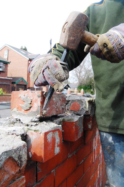 Rebuilding An Edwardian Garden Wall