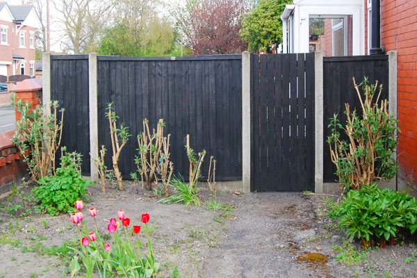 Black Gloss Fence Paint