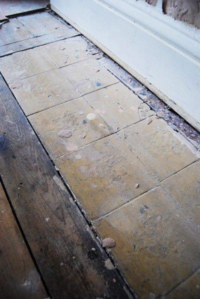 Original Edwardian Tiles