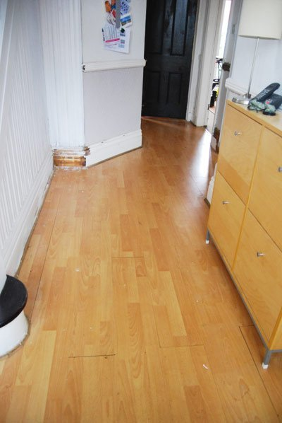 Removing Laminate Flooring