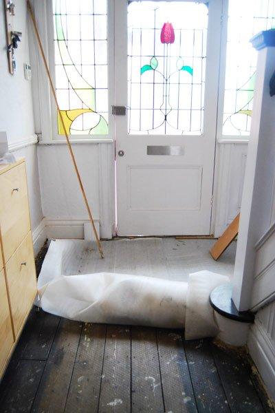 Removing Laminate Flooring