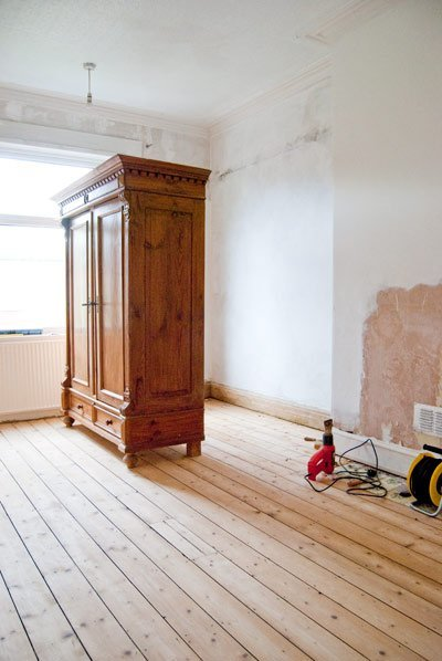 Sanded Floorboards