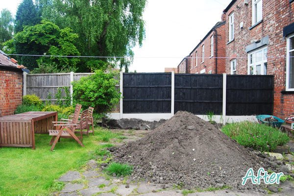 Garden Fence After