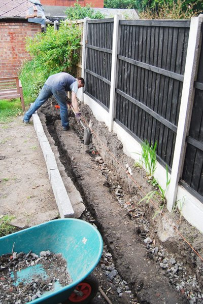 Building A Raised Bed - Foundations