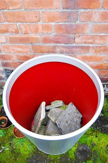 Painting Gräset Plant Pots