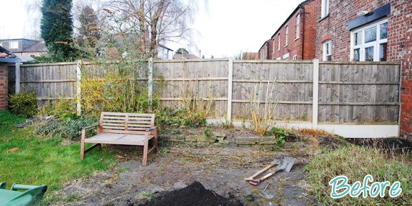 Garden Fence Before