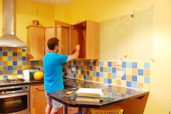 Taking Down A Kitchen