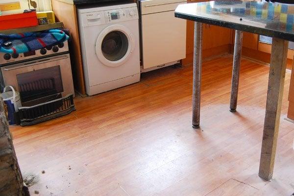 Laminate Floor Removal