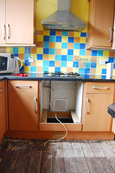 Replacing An Oven