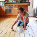 Sanding A Floor
