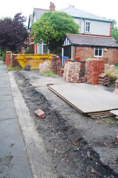 Garden Wall Foundations