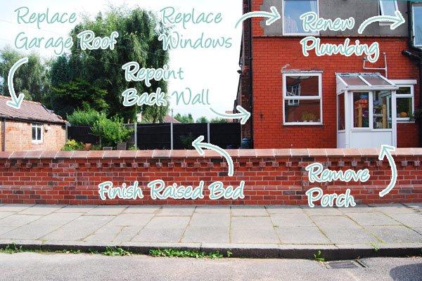 Edwardian Garden Wall