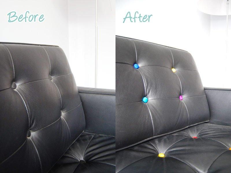 Button Sofa Update