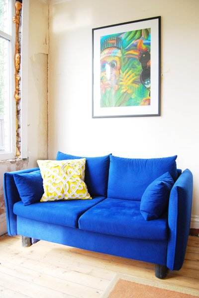 Sofa and cushion