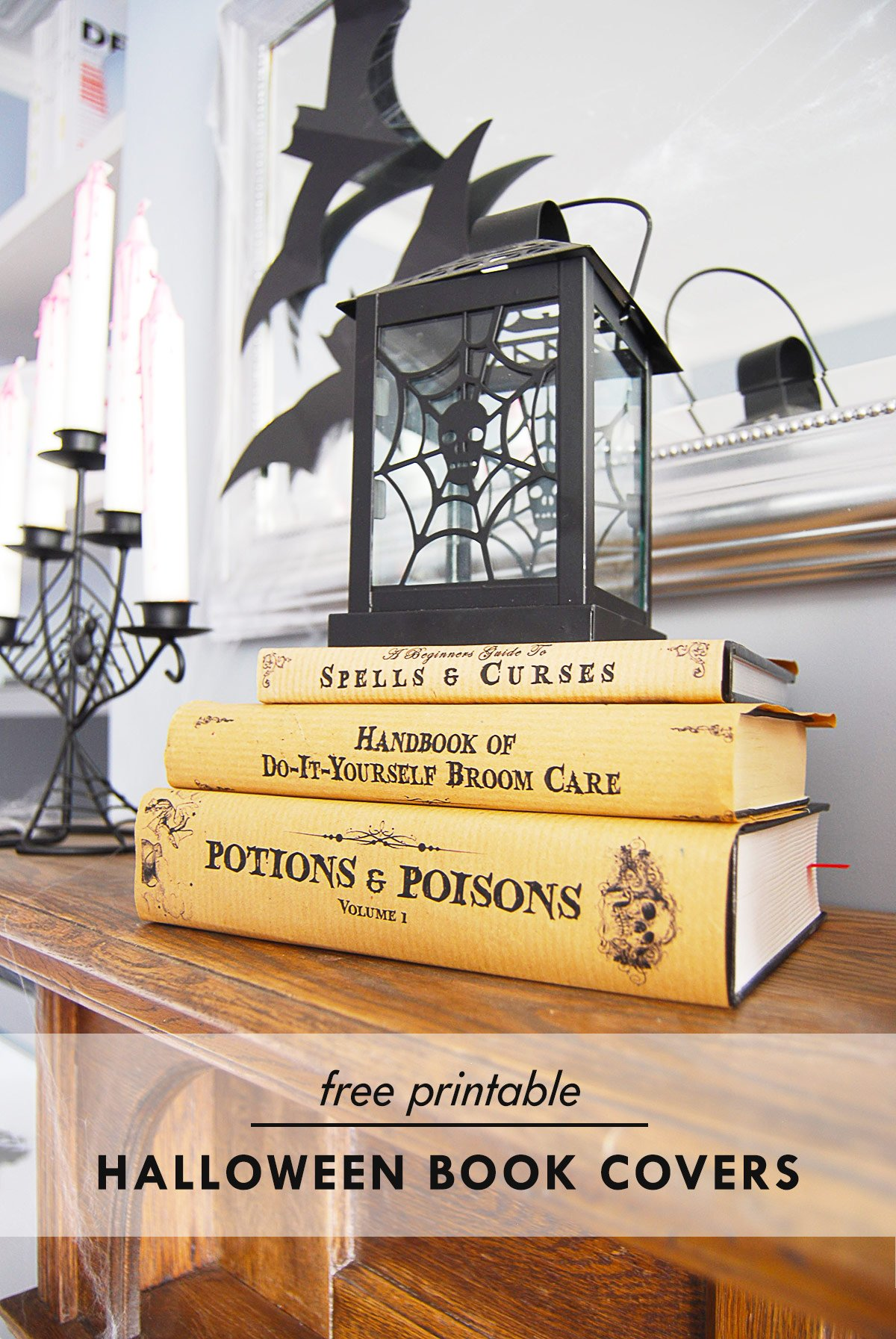 Halloween Book Covers - Free Printable | Little House On The Corner
