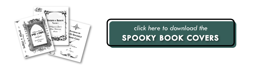 Opt-In Halloween Book Covers | Little House On The Corner