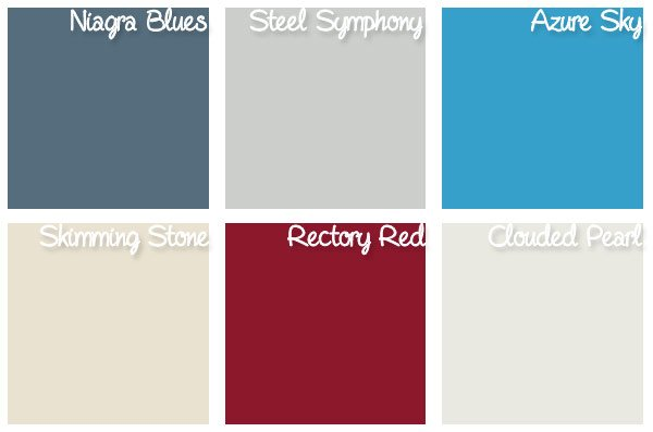 Our Paint Colours